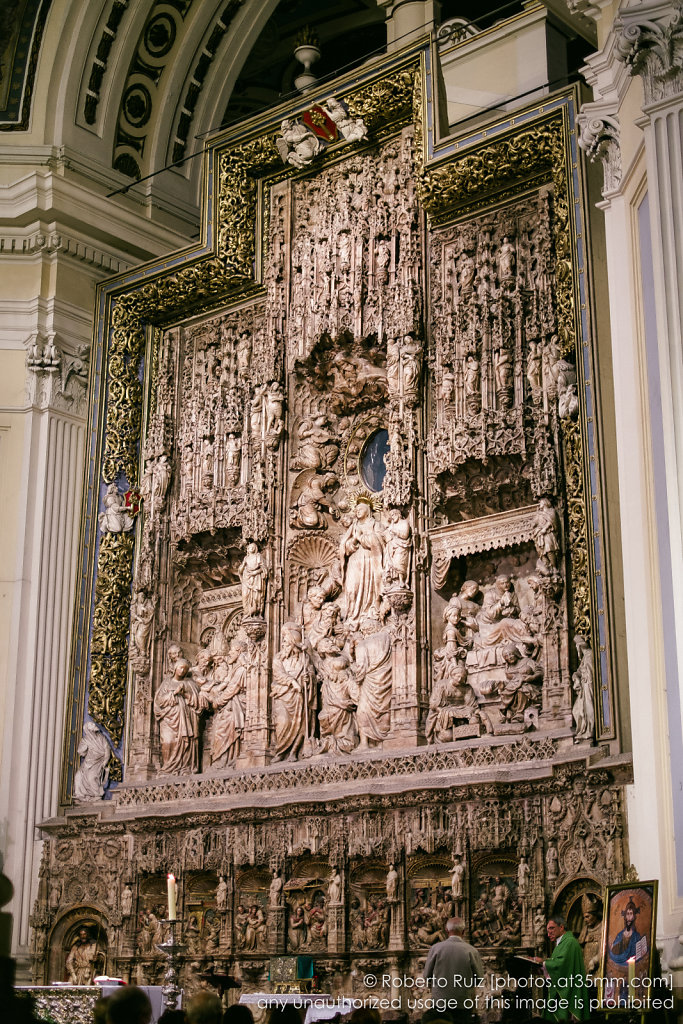 Retablo mayor de la Basílica de Nuestra Señora del Pilar de Zaragoza