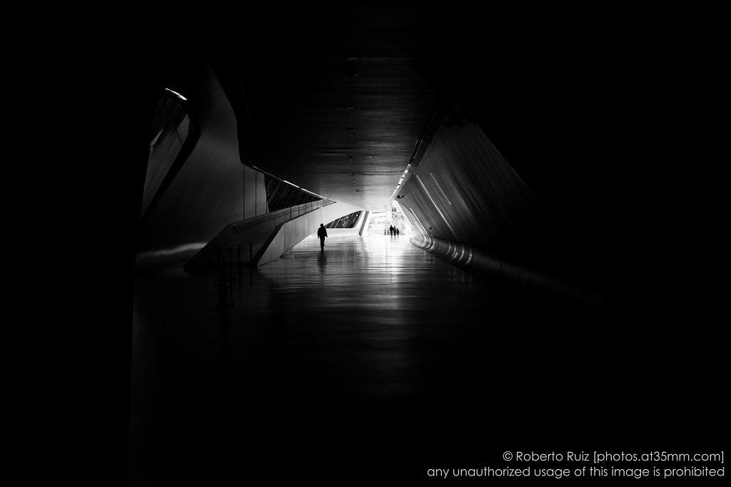 Paseando por el Pabellón Puente