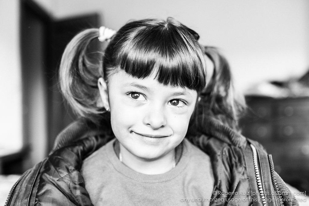 """Ariadna y su """"sonrisa de foto"""""""